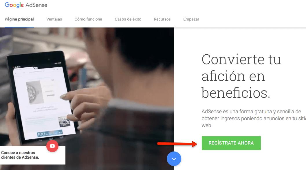 Como monetizar el blog de micronicho con Adsense